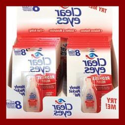 Clear Eyes Redness Relief Up To 8 Hours Of O.2 Oz 12 Pack Ha