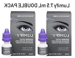 Lumify Redness Reliever Eye Drops, 7.5mL/0.25 fl oz Pack of