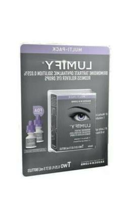 Lumify Redness Reliever Eye Drops Multi-Pack 2 x 7.5 ml /2.5