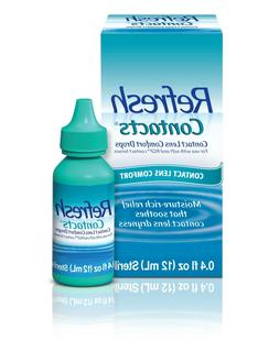 Refresh Contacts Contact Lens Comfort Drops, 0.4 Fluid Ounce