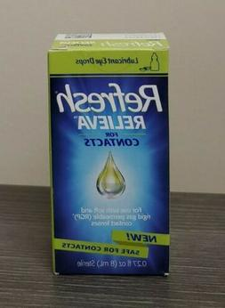 Refresh Relieva FOR CONTACTS  -  .27 fl oz  Eye Drops *EX 04