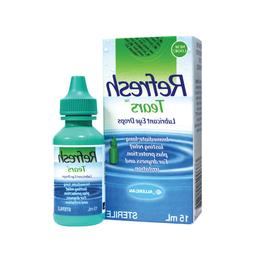 Refresh Tears Eye Drops 15ml X 3 tubes for Lubricant for Dry
