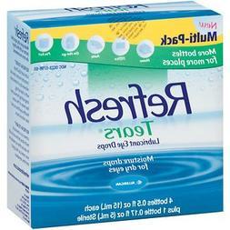 Refresh Tears Lubricant Eye Drops Multipack, 4 ct./0.5 fl. o