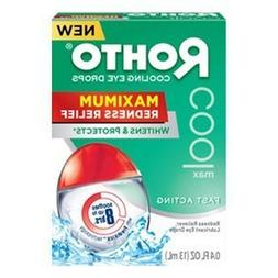 Rohto Cooling Eye Drops Maximum Redness Relief, 0.4 fl  by R