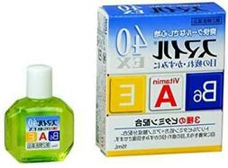 Lion Smile 40EX Vitamin Eye Drops 15ml From JAPAN Free Shipp