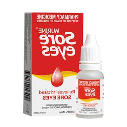 MURINE SORE EYES 15ML EYE DROPS RELIEVES IRRITATED SORE EYES