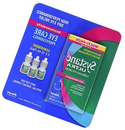 Systane Ultra Lubricant Eye Drops 0.3 oz Pack of 3