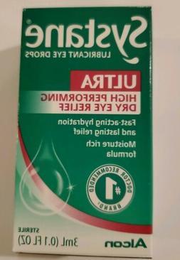 Systane ULTRA Lubricant Eye Drops By Alcon 3ml/0.1oz #1 Doct