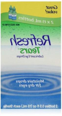 REFRESH TEARS lubricant eye drops 0.5 % 15 ml  - Packaging m
