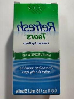 REFRESH TEARS lubricant eye drops 0.5 % 15 ml