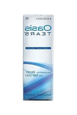 Oasis TEARS Lubricant Eye Drops Bottle Relief For Dry Eyes 0