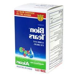 Bion Tears Lubricant Eye Drops, .015-Ounce Single-Use Vials