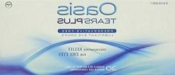 Oasis TEARS PLUS Preservative-Free Lubricant Eye Drops, 30 c