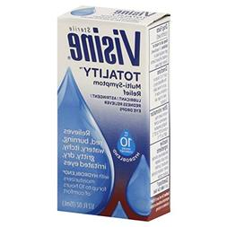 Visine Totality, Multi-Symptom Relief Eye Drops - 0.5 fl oz.