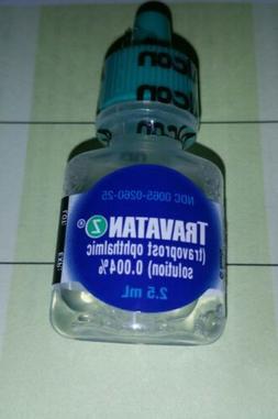 TRAVATAN Z Glaucoma Eye Drops Sealed Bottle 2.5ml