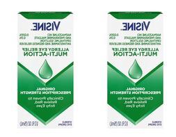 *TWIN PACK* - Visine Allergy Relief Multi-Action Antihistami