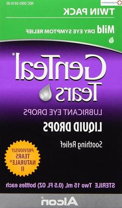 GenTeal Twinpack Eye Drops, Mild 0.5 oz, 2 ea