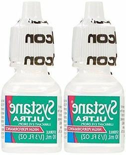 Systane Ultra Lubricant Eye Drops, 2-count .33 fl oz  Bottle