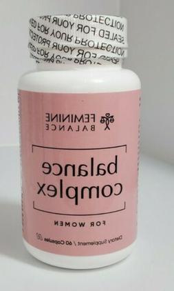 Balance Complex Vaginal Health Dietary Supplement, 60 Capsul
