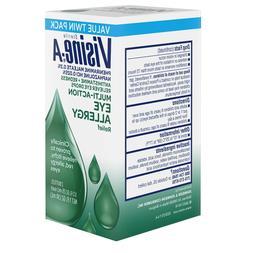 Visine -A Antihistamine + Redness Multi-Action Eye Allergy R