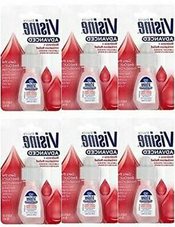 Visine Advanced Relief Lubricant/Redness Reliever Eye Drops
