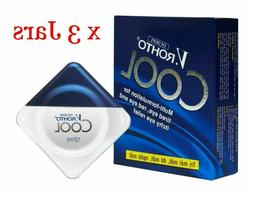 X3 VRohto COOL Eye Drops 12ml Eyestrain Tired Red Itchy Reli