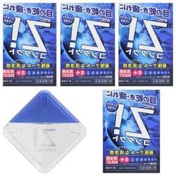 ROHTO Z! Contact Eye Drops X 5 Cool Refreshing Eye Wash Japa