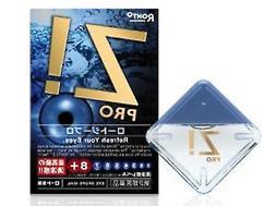 Rohto Z! PRO Eye Drops 12ml × 5sets Vitamin Eyedrops Japan