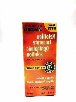 **Zaditor Generic** Ketotifen Antihistamine Eye Drops 0.025%